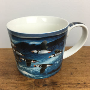 Mug - Puffins in Flight 2