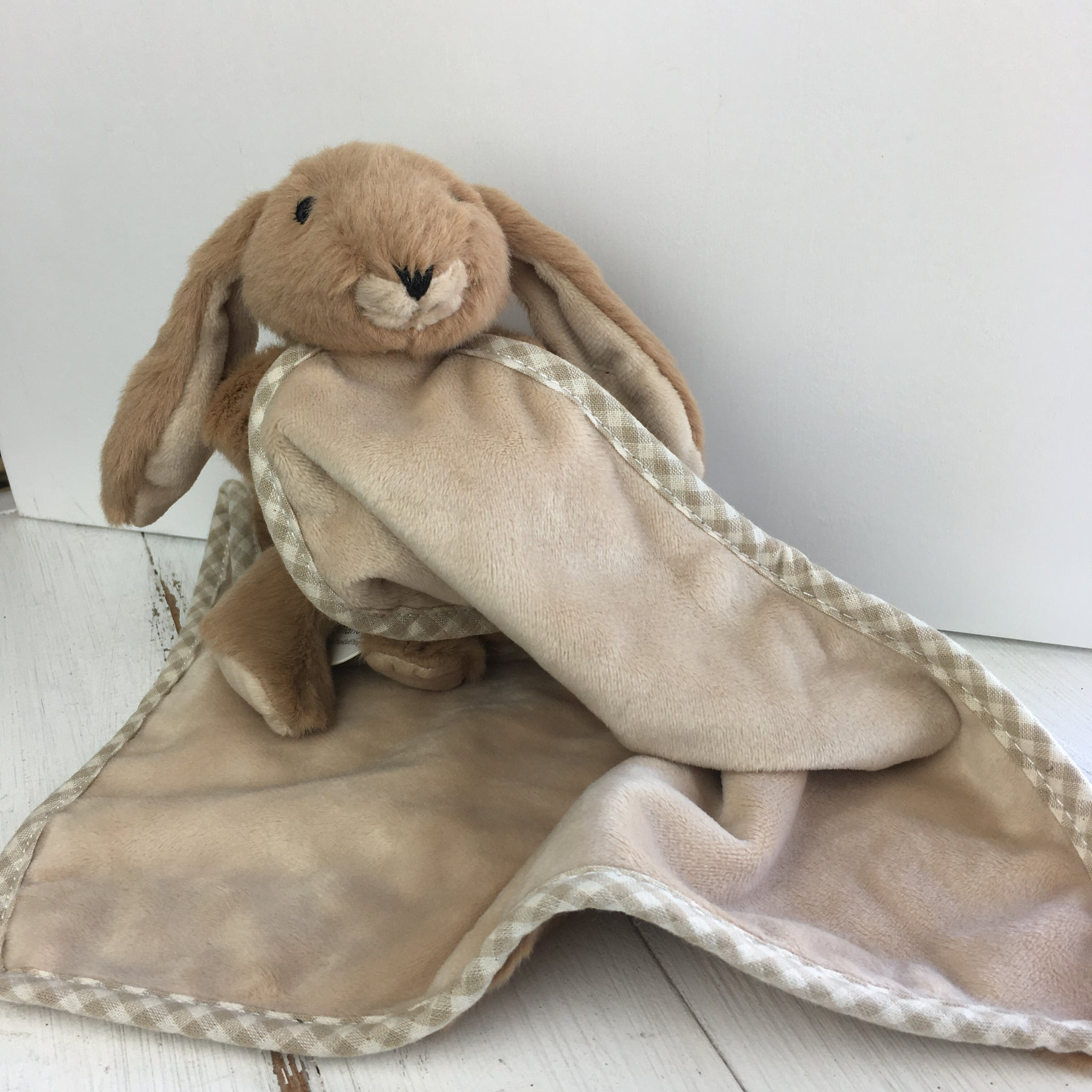 Soft Toy Soother - Brown Bunny