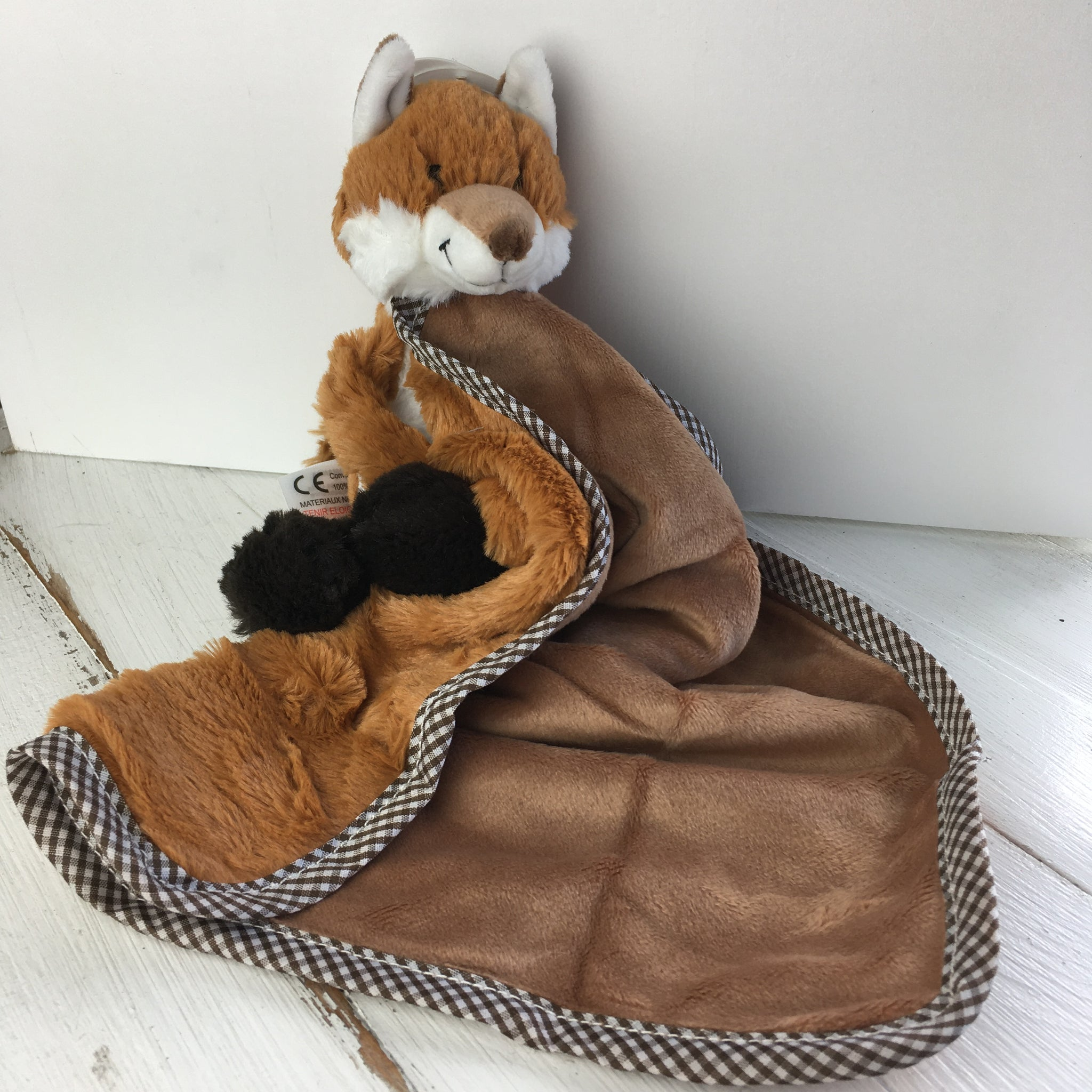 Soft Toy Soother - Fox