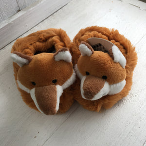 Soft Toy Slippers - Fox