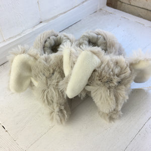 Soft Toy Slippers - Elephant