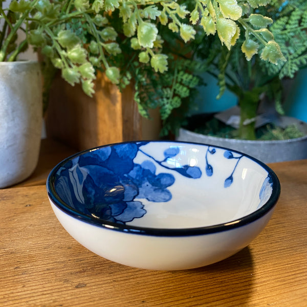 Blue and White Dipping Bowls