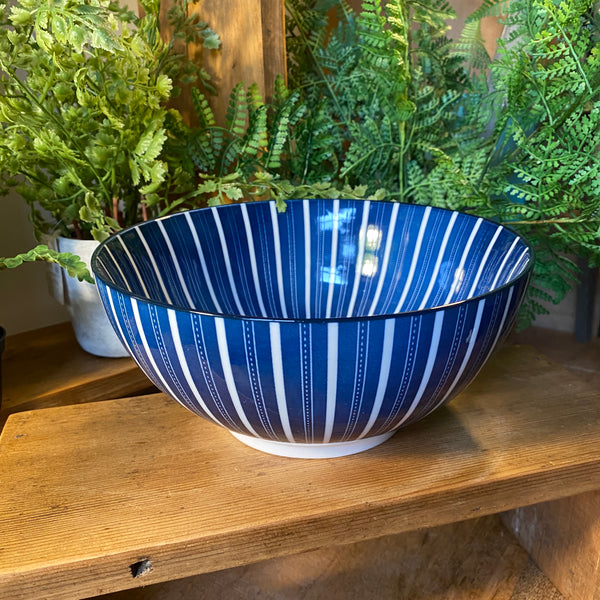 Blue and White Bowls - Large