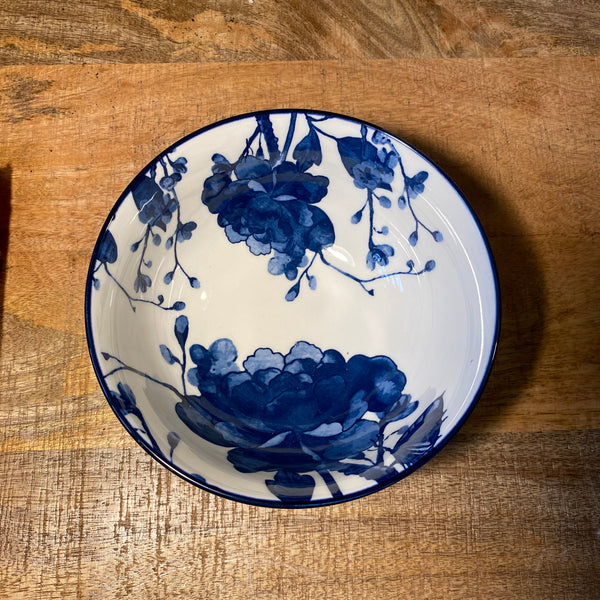Blue and White Bowls - Medium