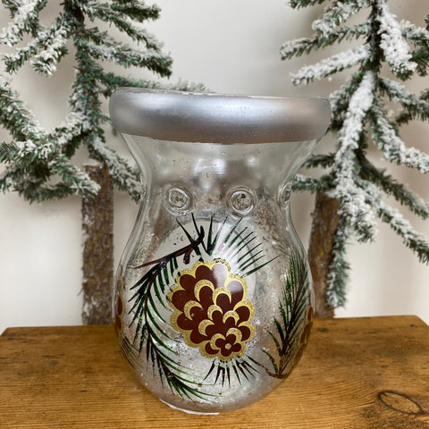 Glass Oil Burners - Pine Cone