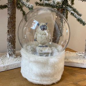 Snowglobe Musical LED - Yeti