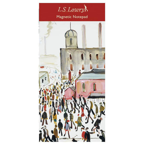 Magnetic Fridge Notepad - Lowry - Going to Work