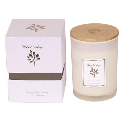 Soy Candle - Black Fig & Cassis