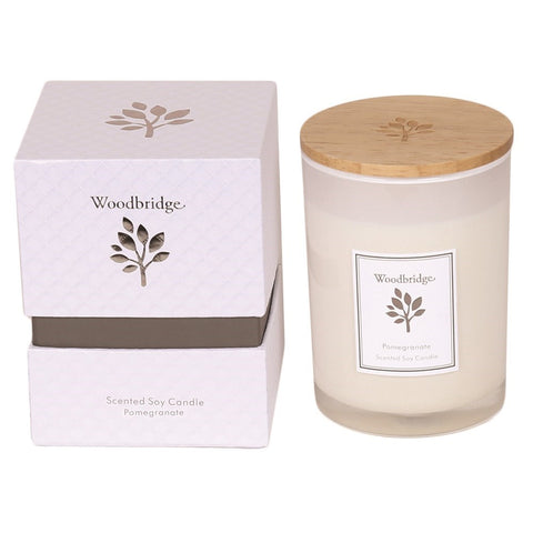 Soy Candle - Pomegranate