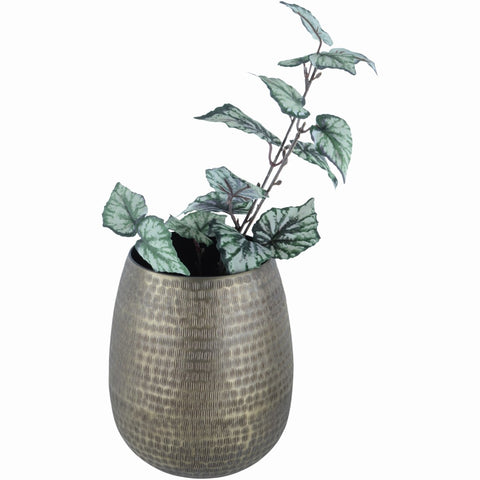 Antique Brass Effect Bali Planter