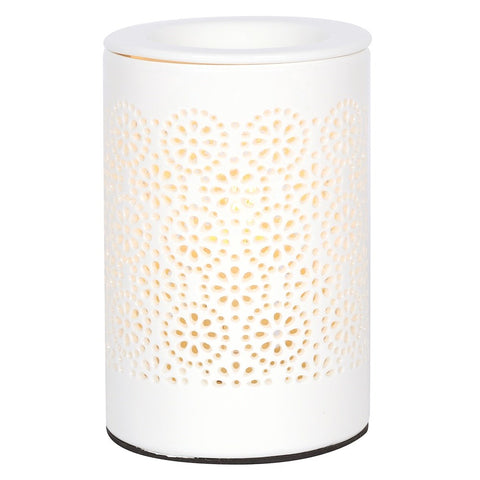 Electric Ceramic Oil Burner - Circles