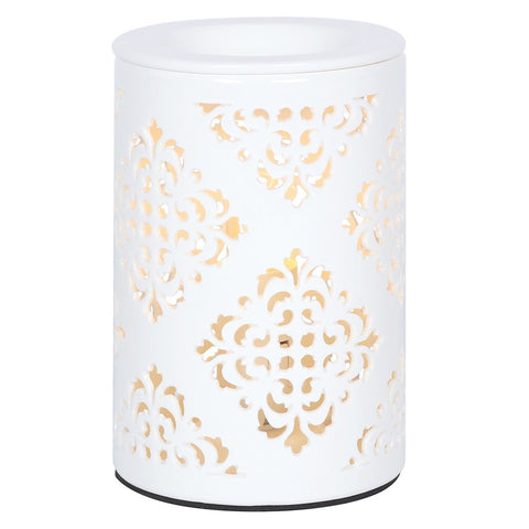 Electric Ceramic Oil Burner - Damask