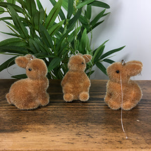 Gisela Graham S/3 Hanging Bunnies