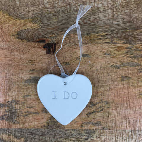 Ceramic Message Tag