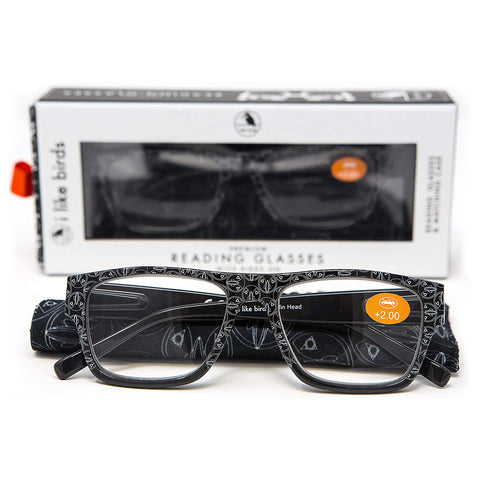 Reading Glasses -  Puffin Head
