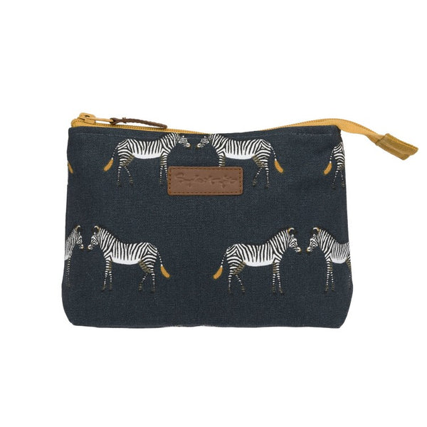 Sophie Allport Make Up Bag - Zebras