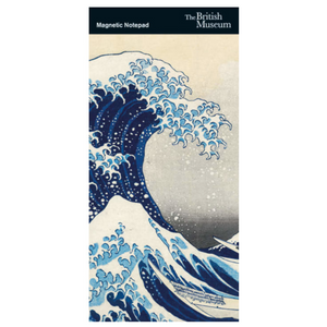 "Magnetic Fridge Notepad - Hokusai ""The Great Wave"""