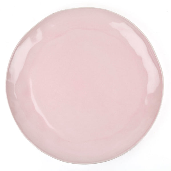 Large Ceramic Platter - Blush Pink