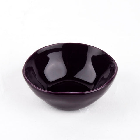 Small Dipping Bowl - Aubergine
