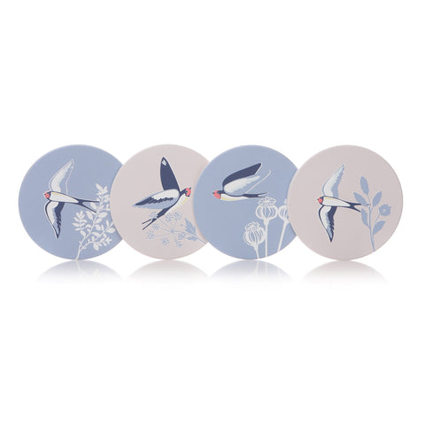 RSPB S/4 Coasters - Swallows