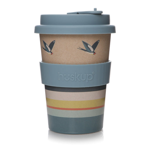 RSPB 12oz Travel Mug - Swallows