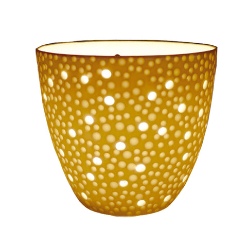 Porcelain Tealight Holder - Bubbles