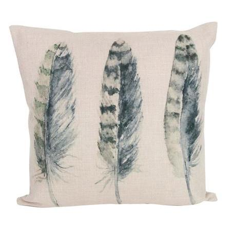 Gisela Graham Square Cushion - Feathers