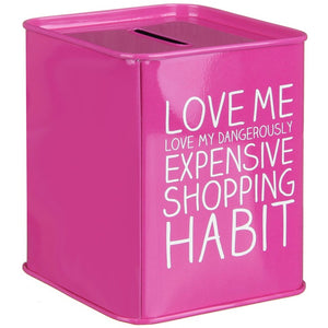Shopaholic Savings Tin