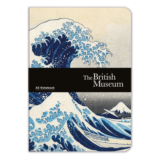 "A5 Notebook - Hokusai ""The Great Wave"""