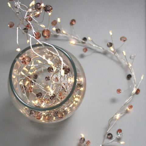 Coco Cluster LED Light Chain - Battery