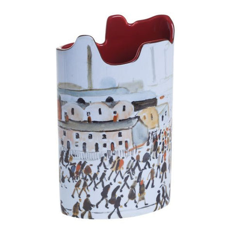 Lowry Going to Work Beswick Vase