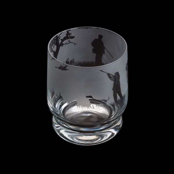 Etched Glass Tumbler  - Shooting Scene