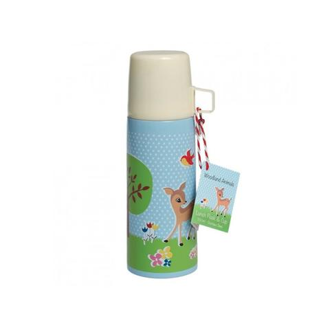 Kid's Lunch Flask & Cup - Woodland