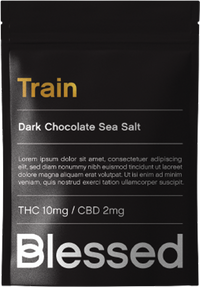 Train - Full spectrum dark chocolate with sea salt