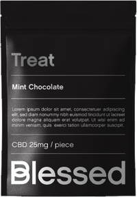 Treat - Mint dark chocolate with full spectrum cbd