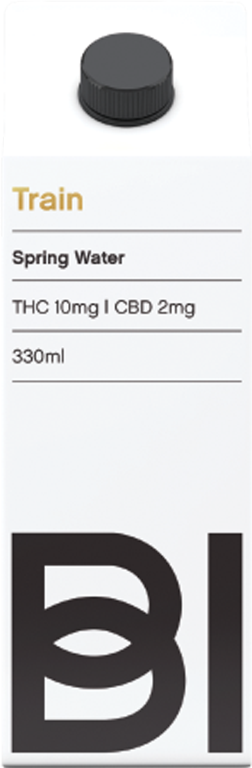 Train - Kelowna Spring water - Full spectrum