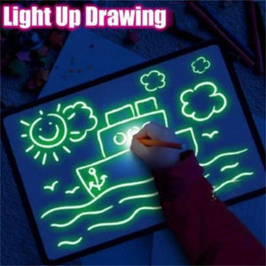 Magic Draw with Light Board