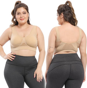 NEW GRETA SPORTS BRA VEST STYLE FOR PLUS SIZE WOMEN