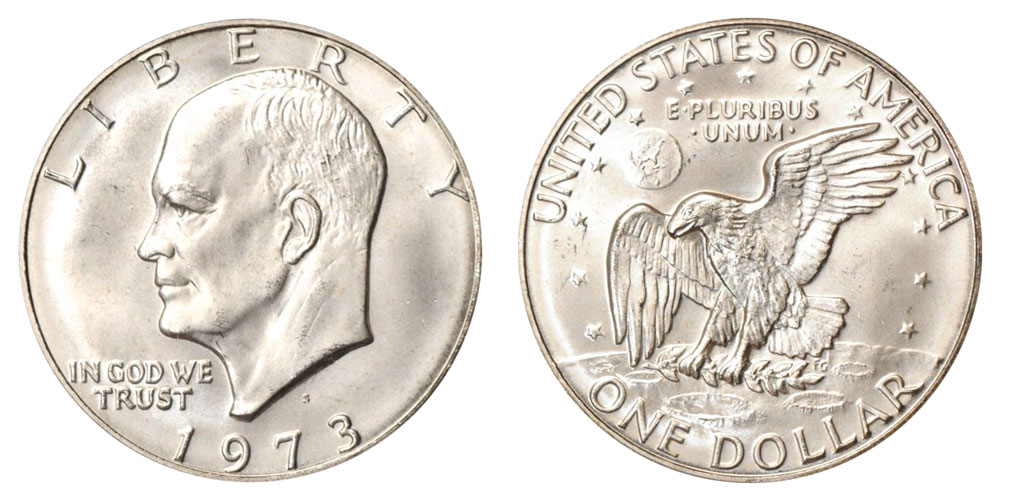 How much is a 1973 Silver Dollar worth? - SDC