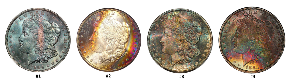 SDC - How To Distinguish Between Artificially & Naturally Toned Coins