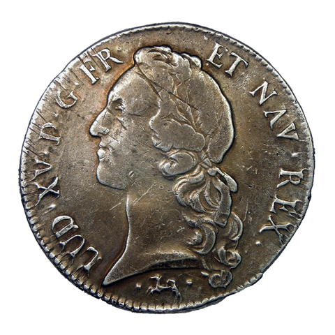 1756 France 1 Écu - Louis XV