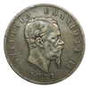 1861-1878 Italy 5 Lire Silver Crown