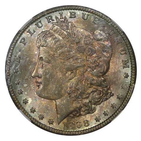 1898-O U.S. Morgan Dollar NGC MS-64