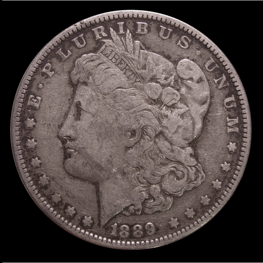 1878-1904 Morgan Silver Dollar (F Condition)