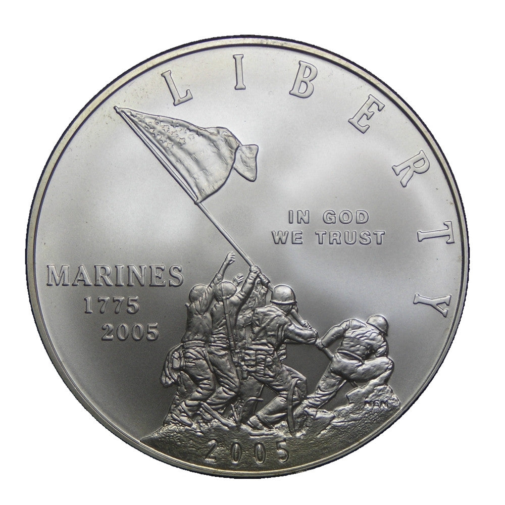 2005 U.S. Marines Commemorative Silver Dollar