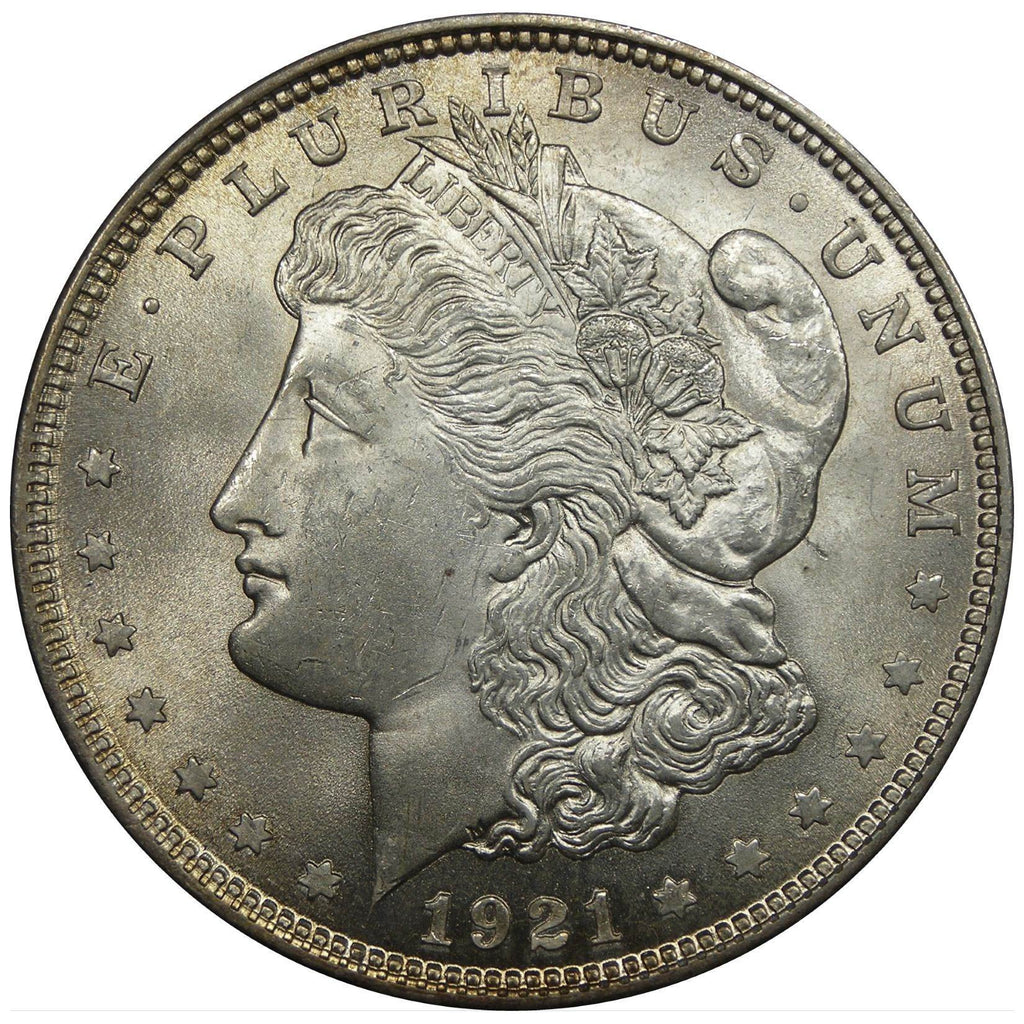 1921 Morgan dollar obverse