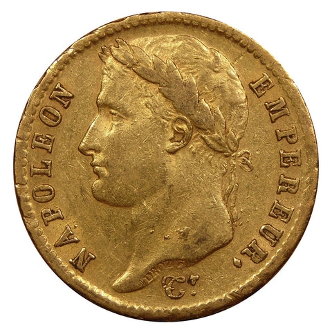 1809-1814 France Gold 20 Francs - Napoleon I