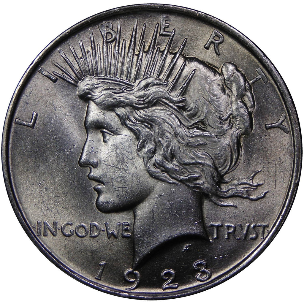 Peace Dollar coin obverse