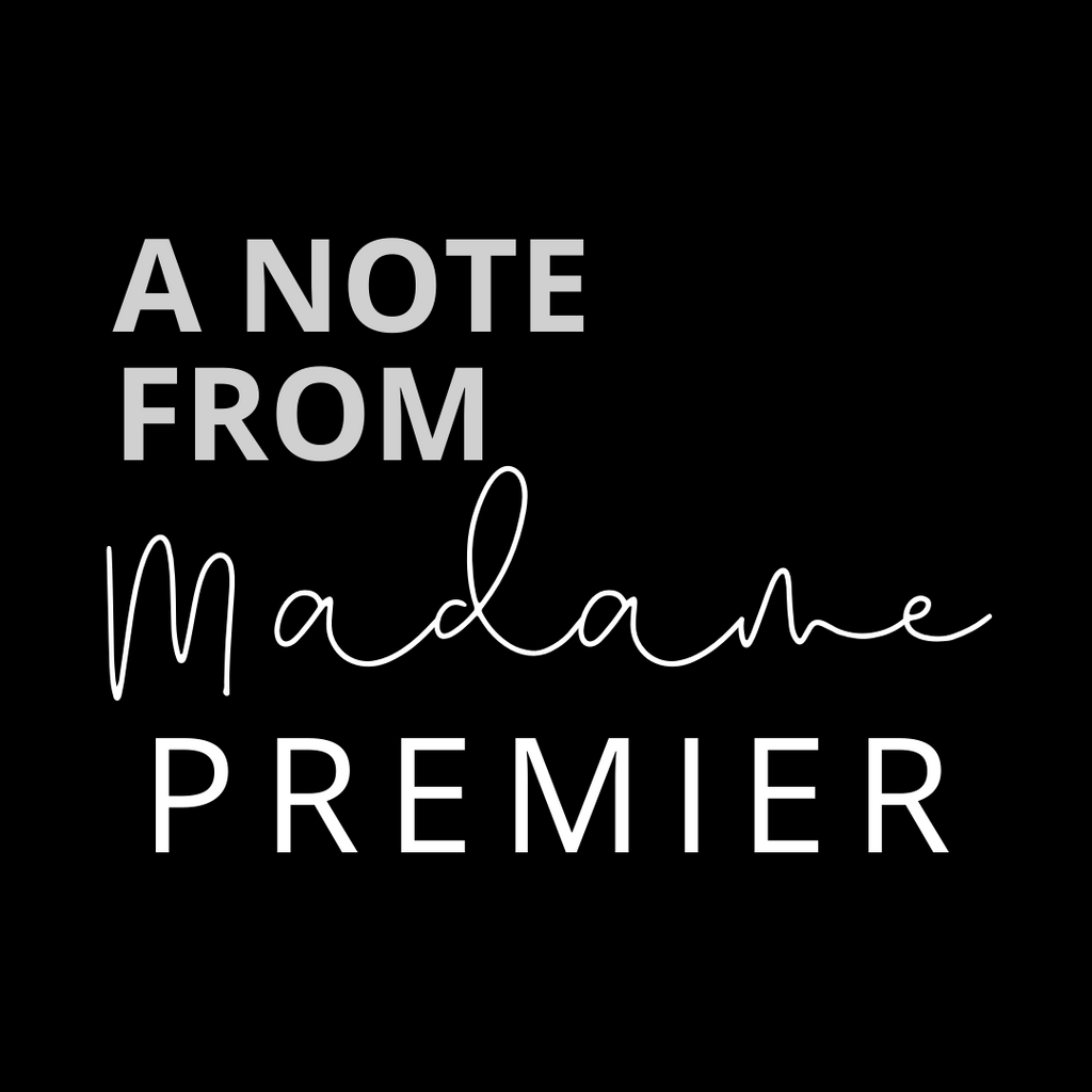 Madame Premier - A Commitment to Being Anti-Racist