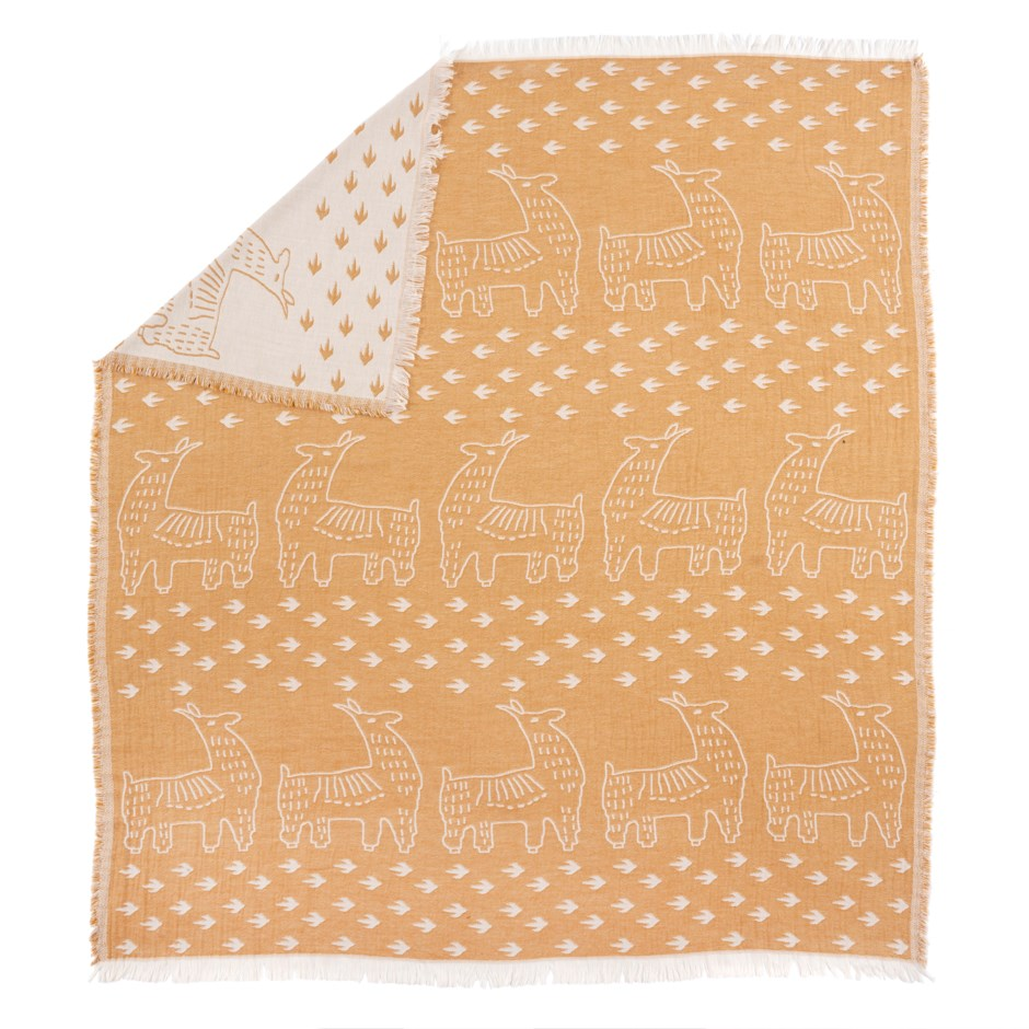 Llama Throw Blanket